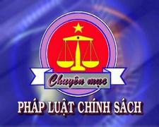 Pháp luật và chính sách (10/03/2016)