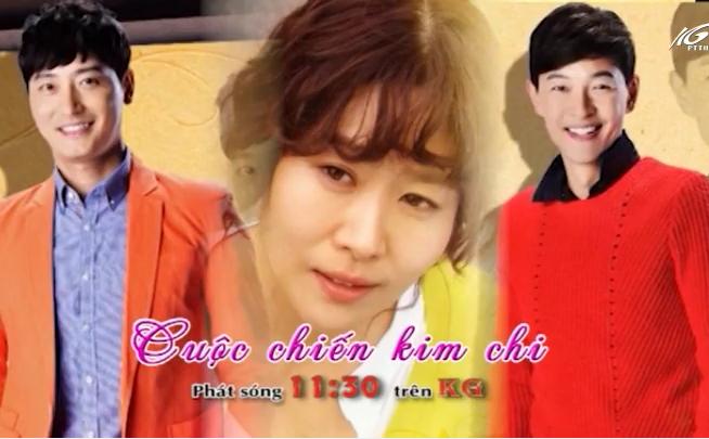 11h30 kênh KG: Cuộc chiến kim chi
