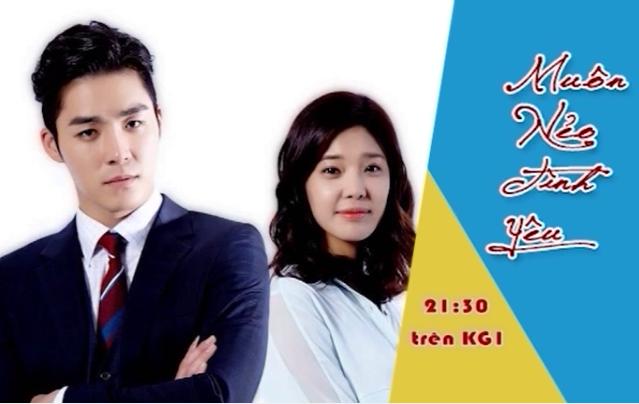 21h30 kênh KG1: Muôn nẻo tình yêu