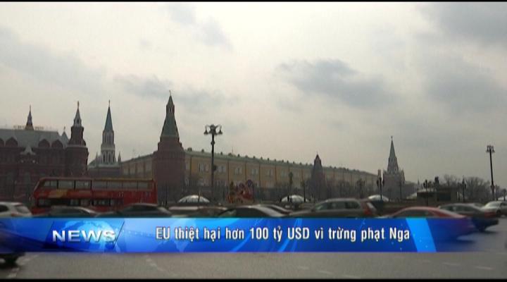 EU thiệt hại hơn 100 USD vì trừng phạt Nga