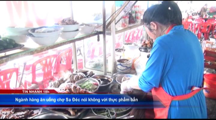 Chợ Sa Đéc nói không với thực phẩm bẩn