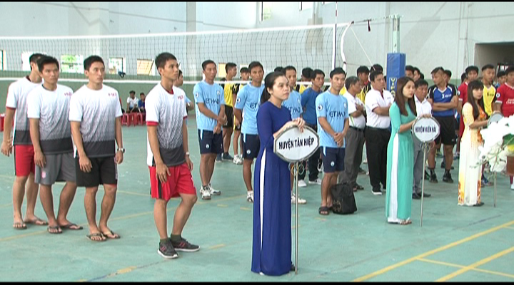 Khai mạc giải vô địch bóng chuyền nam 2017