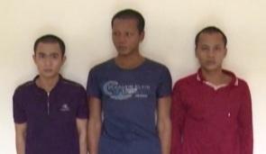 Bắt giam 3 tên côn đồ cố ý gây thương tích