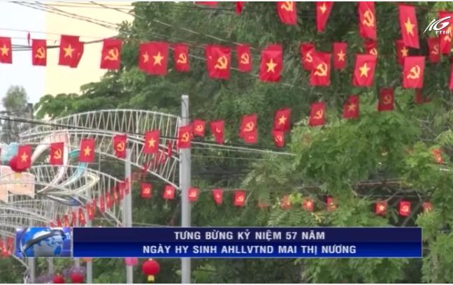Kỷ niệm ngày hy sinh AHLLVTND Mai Thị Nương