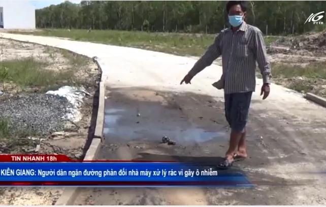 Phản đối nhà máy xử lý rác vì gây ô nhiễm