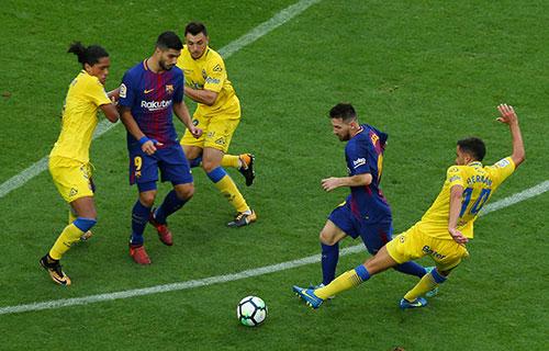 Bảng xếp hạng La Liga 2017-2018 sau vòng 13