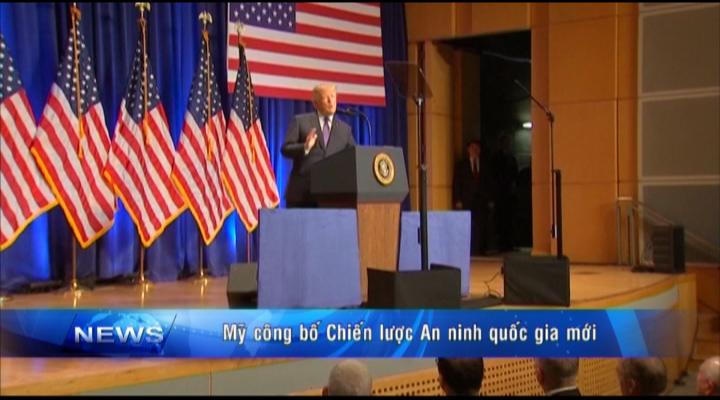 Mỹ công bố chiến lược An ninh quốc gia mới