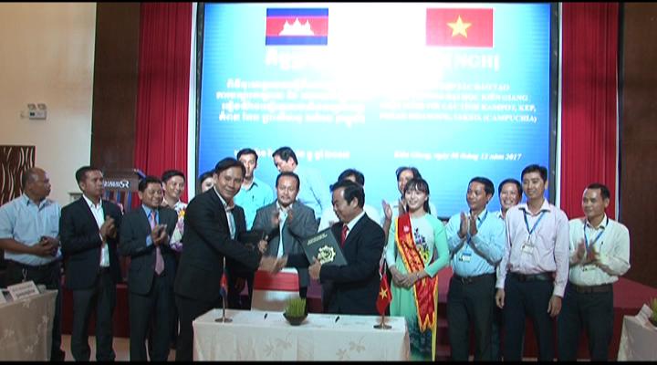Ký kết đào tạo giữa ĐH KG và các tỉnh Campuchia