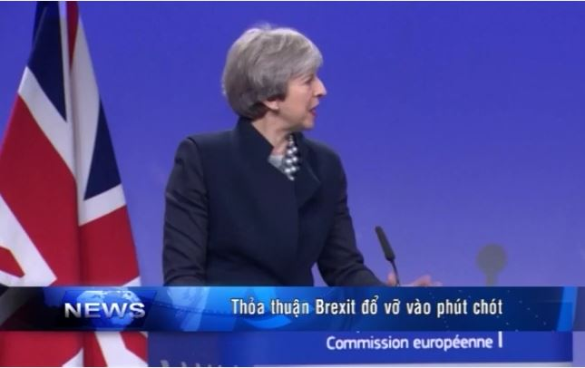 Thỏa thuận Brexit đổ vỡ vào phút chót