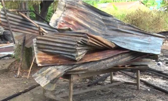 Châu Thành: Hỏa hoạn làm thiệt hại 1 căn nhà