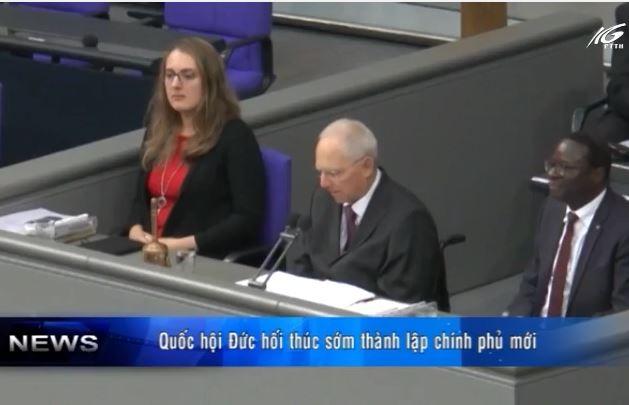 Quốc hội Đức hối thúc sớm thành lập chính phủ mới
