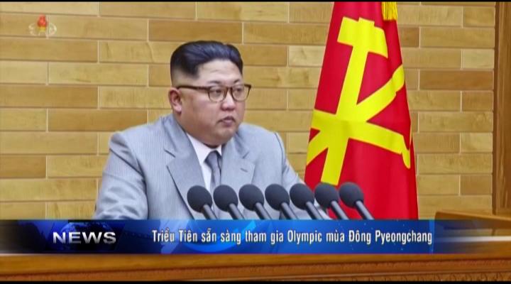 Triều Tiên sẵn sàng tham gia Olympic mùa Đông