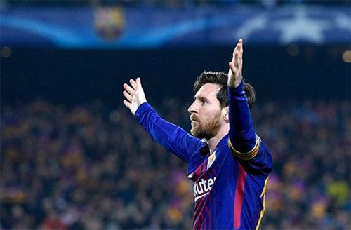 Messi có tròn 100 bàn tại Champions League