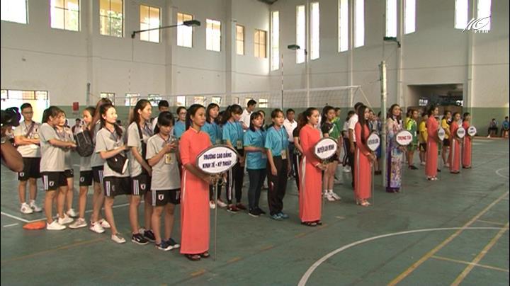 Khai mạc giải bóng chuyền hơi nữ Đại hội TDTT