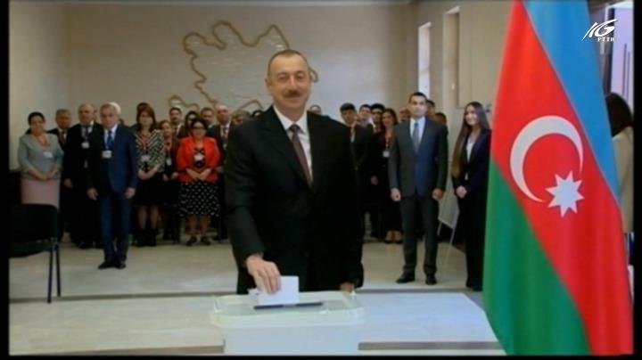 Đương kim Tổng thống Ajerbaijan tái đắc cử