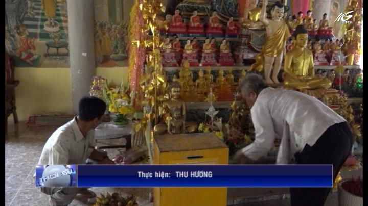 Đồng bào Khmer Hòn Đất vui đón tết cổ truyền