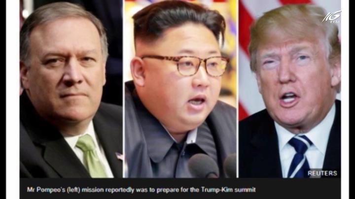 Báo Mỹ: Giám đốc CIA bí mật tới Triều Tiên