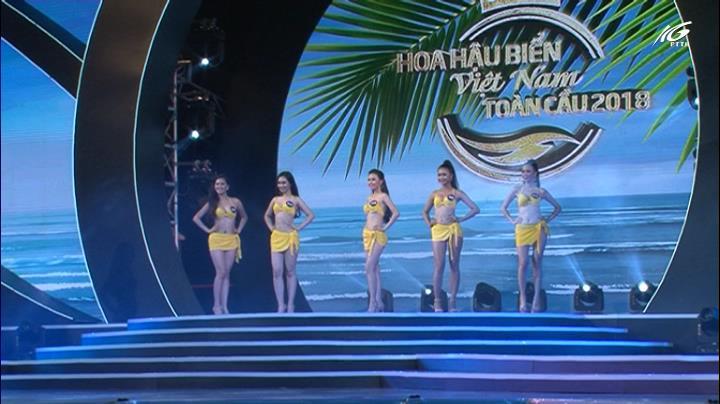 Đêm chung kết hoa hậu biển Việt Nam toàn cầu 2018