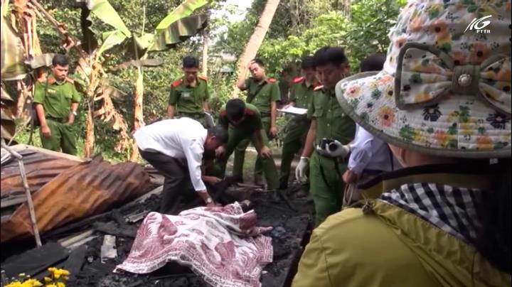 Hỏa hoạn thiêu rụi một căn nhà khiến chủ nhà tử vong