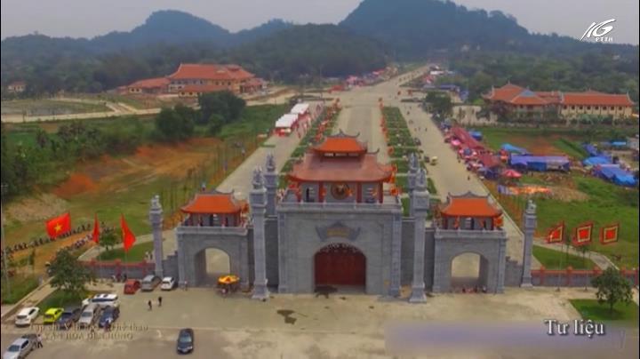Đôi nét văn hóa đền Hùng
