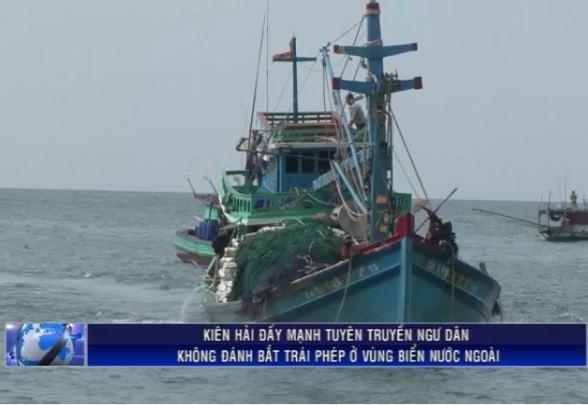 Không đánh bắt trái phép ở vùng biển nước ngoài