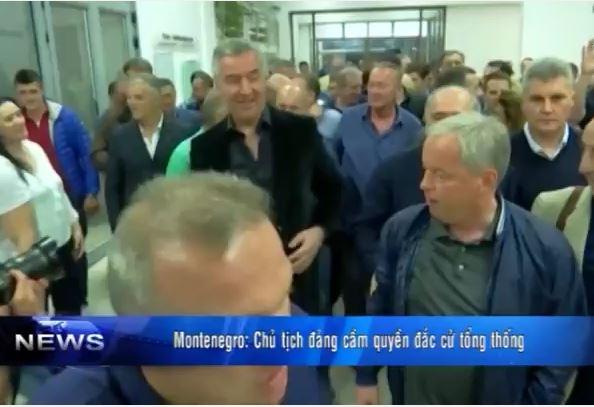 Montenegro: Chủ tịch đảng đắc cử tổng thống