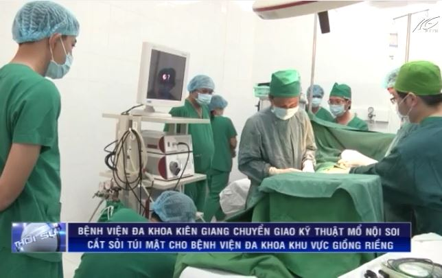 BVĐK tỉnh chuyển giao kỹ thuật mổ nội soi