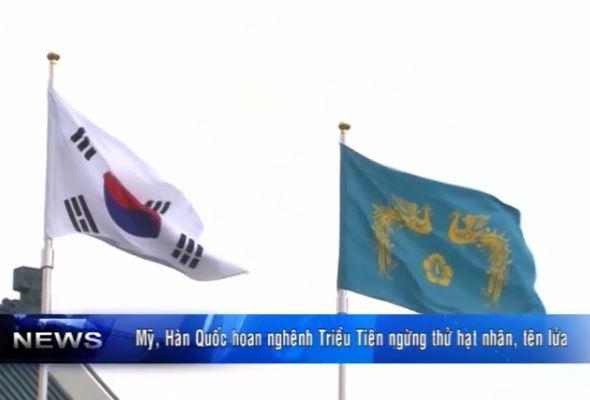 Hoan nghênh Triều Tiên ngừng thử hạt nhân, tên lửa