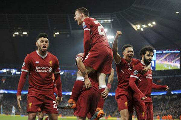 Lượt đi bán kết Cup C1: Liverpool vs AS Roma