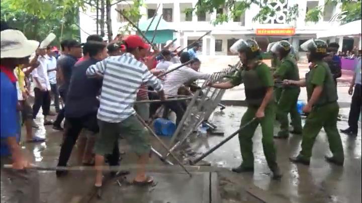 Huyện Giồng Riềng tổ chức diễn tập khu vực phòng thủ