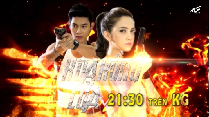 21h30 kênh KG: Hoa hồng lửa