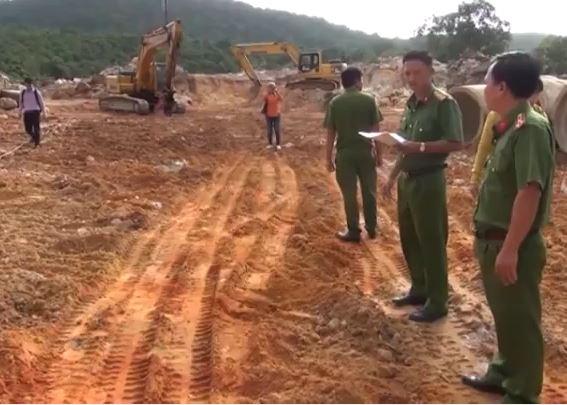 Cần xử lý nghiêm việc khai thác khoáng sản trái phép