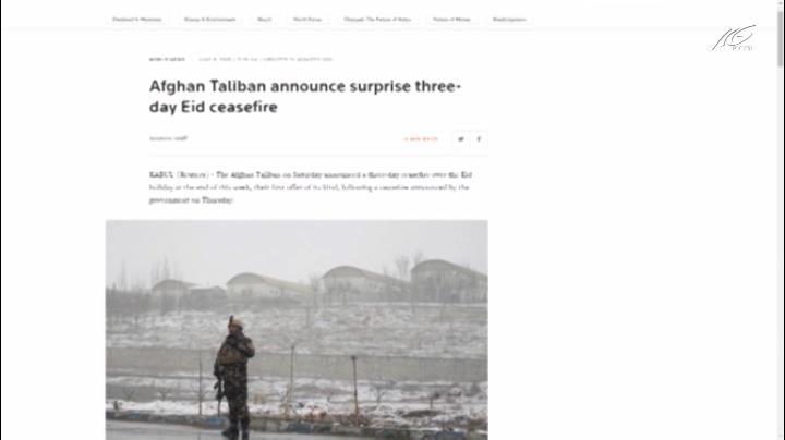 Taliban chấp nhận ngừng bắn với chính phủ Afghanistan