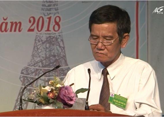 Đại hội chi hội nhà báo Đài PT TH KG lần thứ VIII