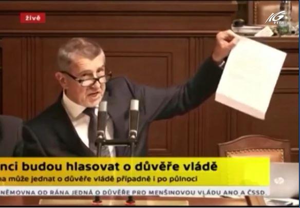 CH Séc bỏ phiếu tín nhiệm lại Quốc hội