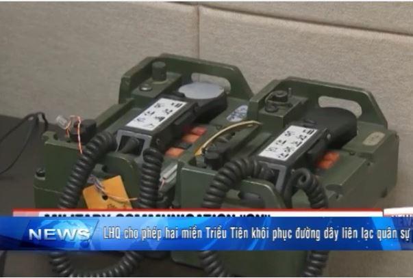 Hai miền Triều Tiên khôi phục đường dây liên lạc quân sự