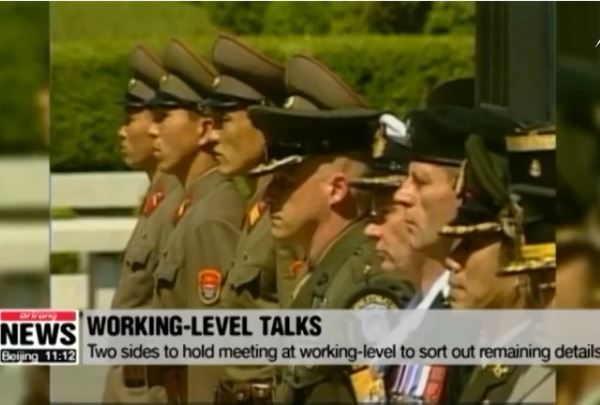 Mỹ, Triều Tiên thảo luận việc trao hài cốt binh sĩ
