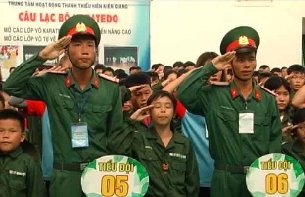 Lễ trưởng thành học kỳ quân đội khóa 2