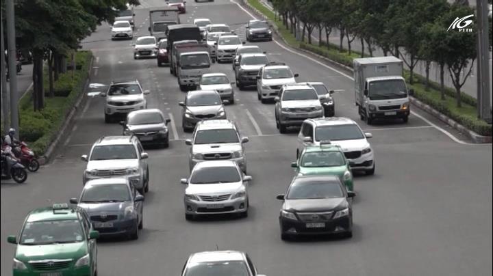 Kiểm soát xe tải vào nội đô bằng thiết bị giám sát