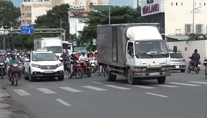 TP.HCM tăng giờ cấm xe tải vào nội thành từ 1/8