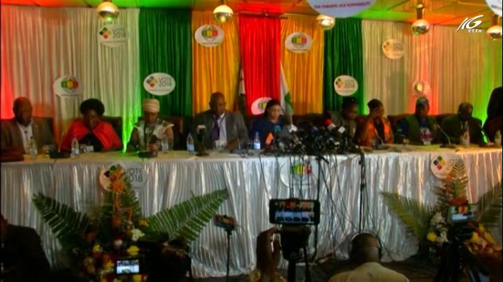Ông Mnangagwa tái đắc cử tổng thống Zimbabwe