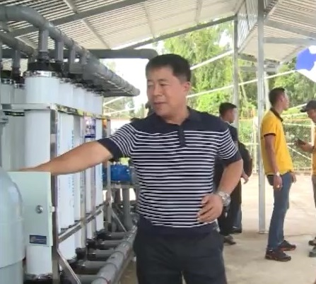 Bàn giao hệ thống xử lý nước theo công nghệ mới