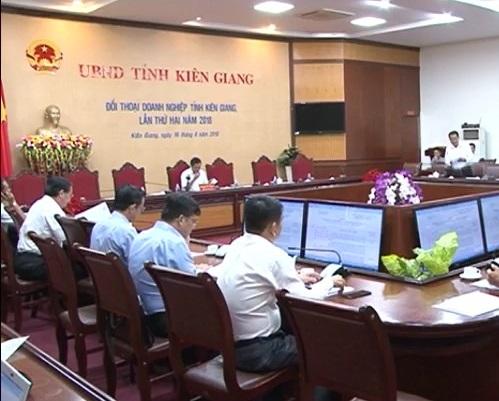 Hội nghị đối thoại doanh nghiệp tỉnh KG lần 2