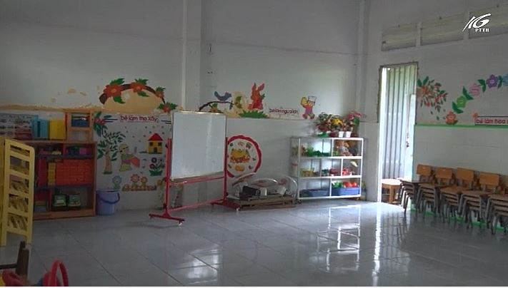 Sửa chữa 7 phòng học cho năm học mới