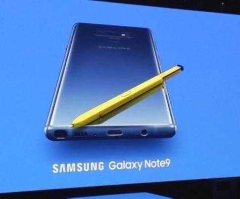 Samsung ra mắt điện thoại thông minh Galaxy Note 9