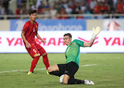 Văn Lâm bị loại, Văn Quyết ở lại đội Olympic Việt Nam