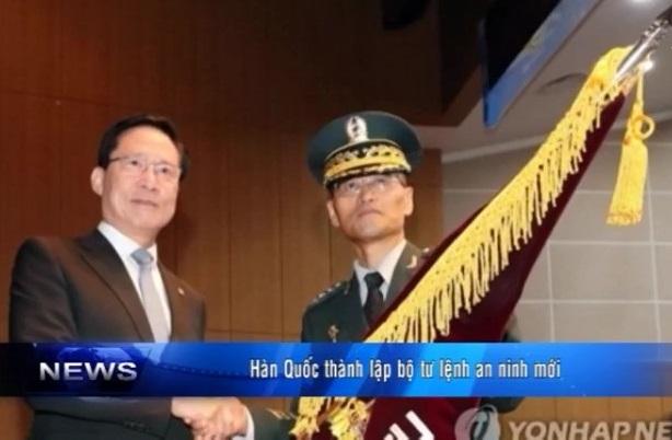 Hàn Quốc thành lập bộ tư lệnh an ninh mới