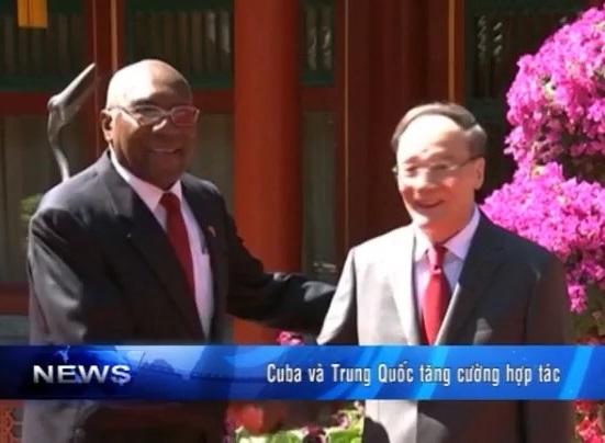 Cuba và Trung Quốc tăng cường hợp tác
