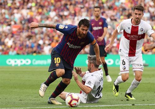 Barca thắng với tỷ số 8-2 ở La Liga