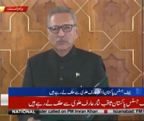 Tân Tổng thống Pakistan Arif Alvi nhậm chức